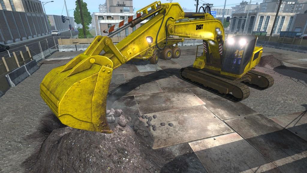 Dig-It - A Digger Simulator. Cape Copenhagen/Rondomedia 2014