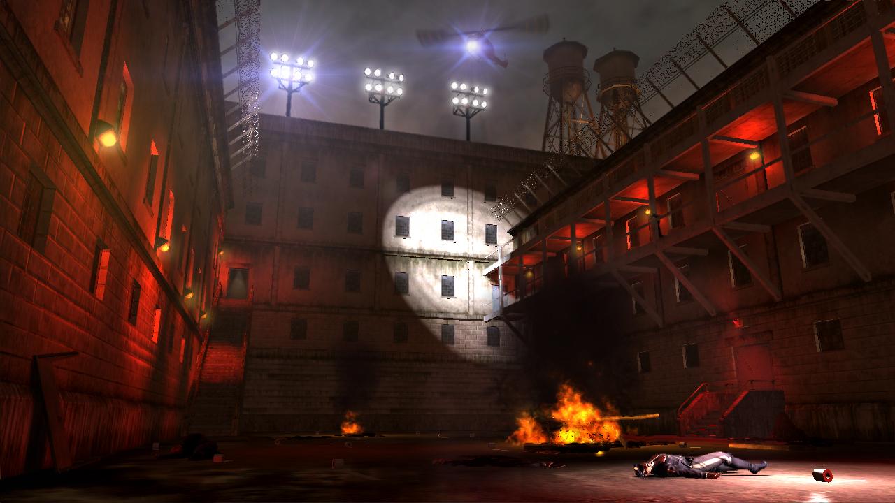 Watchmen screenshot - Prison