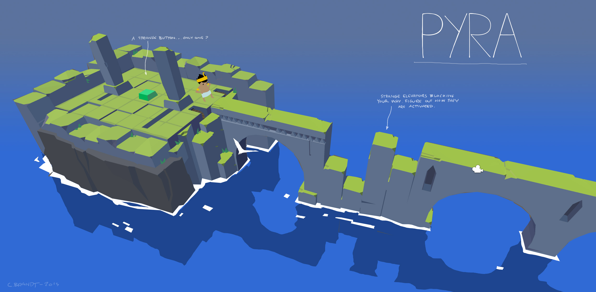 Pyra leveldesign - concept 1