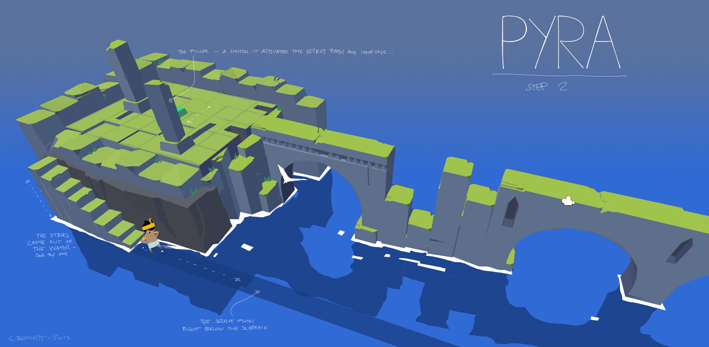 Pyra leveldesign - concept 2