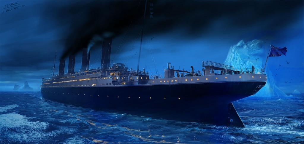 Titanic - Iceberg right ahead!