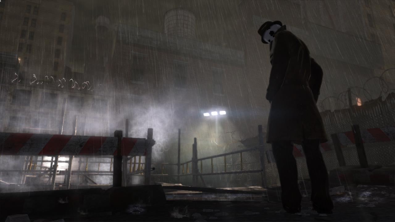 Watchmen screenshot - Rorschach
