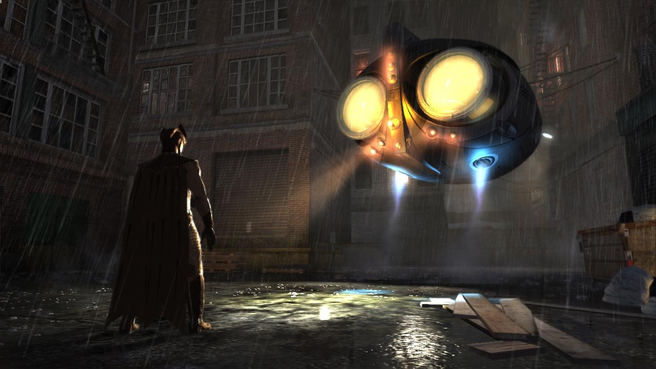 Watchmen screenshot - Night Owl Ship